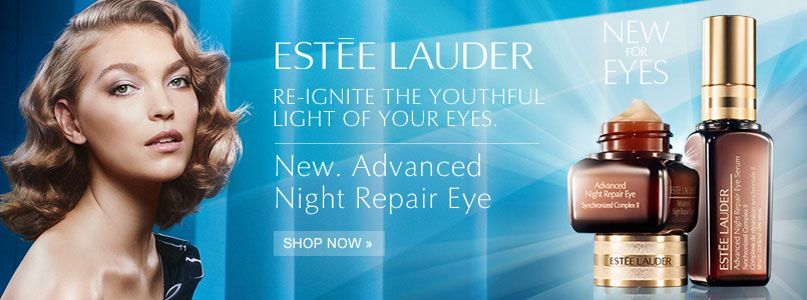 New advanced night repair eye