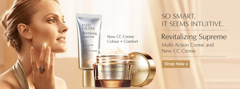 New CC Creme Colour + Comfort. So smart, it seems intuitive. Revitalizing Supreme