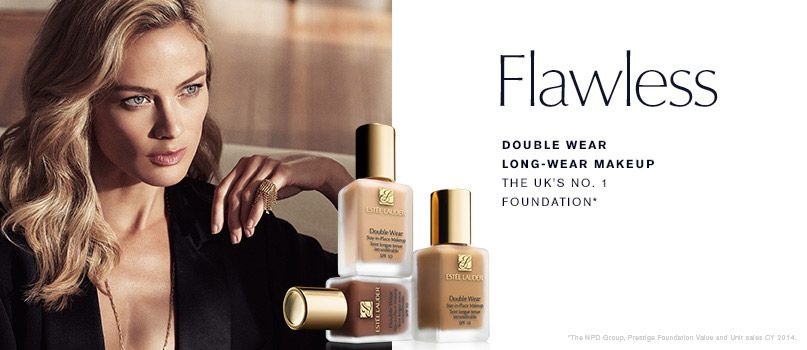 Estee Lauder - Flawless - Double wear long lasting makeup - The UK%27s No1 Foundation