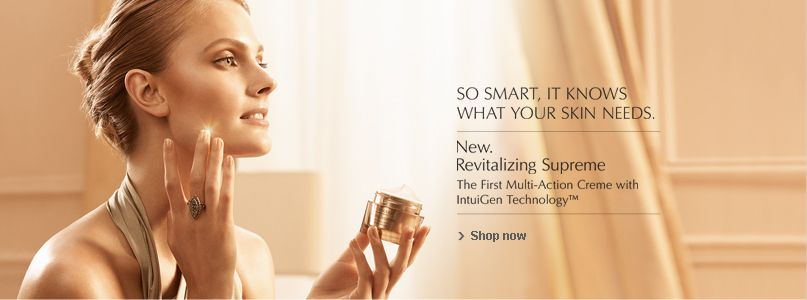 Estee Lauder - So smart, it knows what your skin needs.