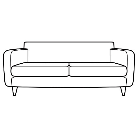 Buy House by John Lewis Eton Small Sofa, Eva Graphite Online at johnlewis.com