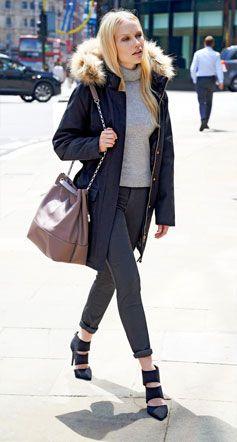 Street style - Stiletto Boots