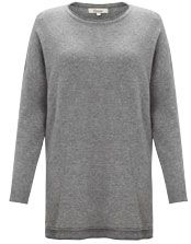 Somerset by Alice Temperley Oversized Cashmere Jumper, Grey