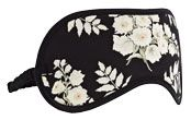 Somerset by Alice Temperley Alice Floral Eye Mask, Black / Multi £15