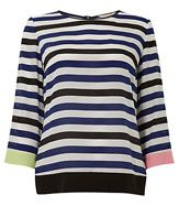 Wishbone Sheila Stripe Top, Multi
