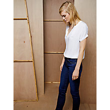 Buy AG The Harper Straight Skinny Jean, Smitten Online at johnlewis.com