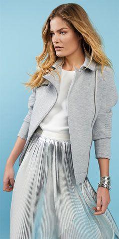 Skirts - Accordion pleats