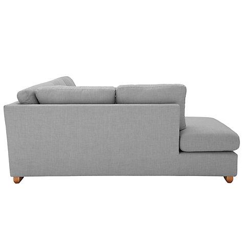 Buy john lewis felix corner chaise end sofa evora putty for Chaise end sofa