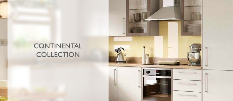 Continental collection fitted kitchens
