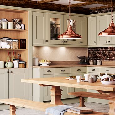 County collection fitted kitchens for John lewis kitchen units