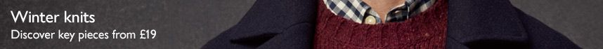 Men's knitwear from £19