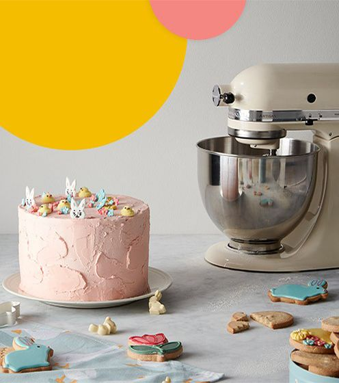 Power your way through Easter baking