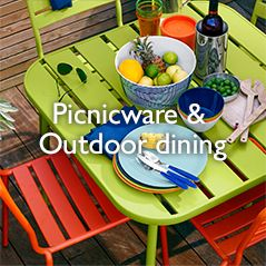 Picnicware & Outdoor dining