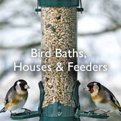 Bird Baths,Houses & Feeders