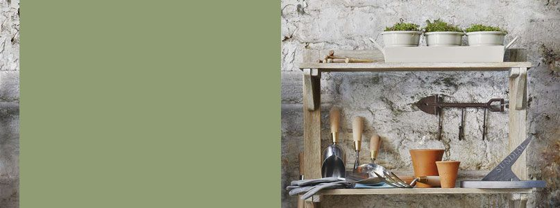Garden tools and potting shed equipment