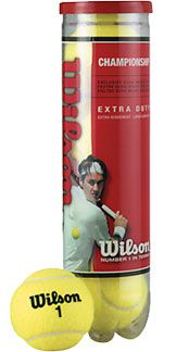 Wilson Championship Tennis Ball, Pack of 4