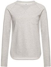 Kin by John Lewis Sweat Top, Grey Marl
