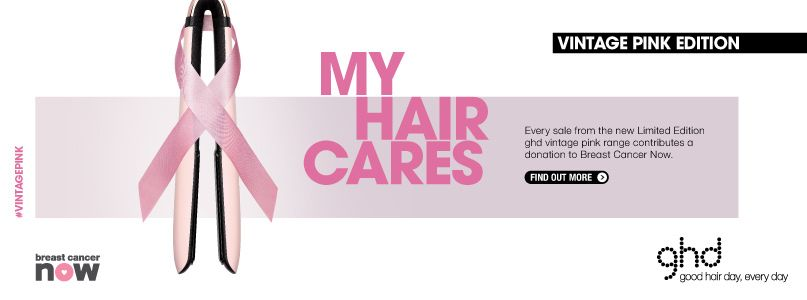My hair cares - vintage pink edition
