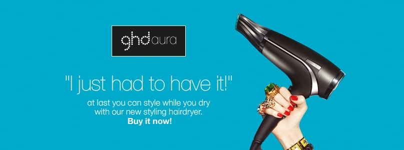 At last you can style while you dry with ghd%27s new styling hairdryer