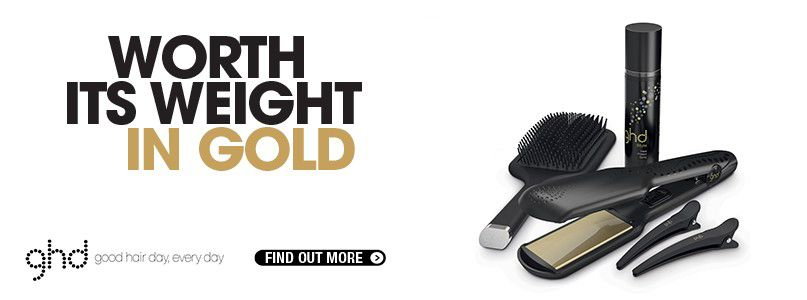 Worth it%27s weight in gold - Save over £30 for a limited time only with ghd V gold