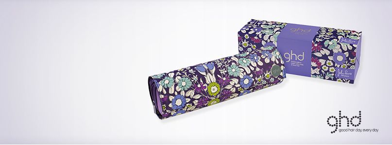 John Lewis 150 years - floral GHD limited edition styler carry case and heat mat