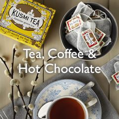 Tea, Coffee & Hot Chocolate