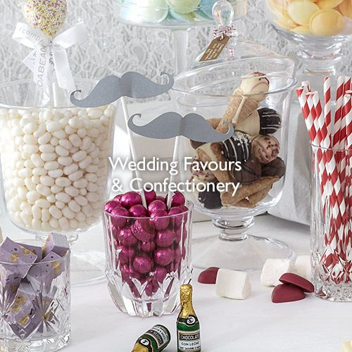 Wedding Favours and Confectionery