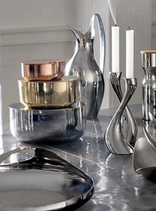 Striking silverware