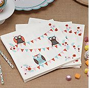 Patchwork Owls Party