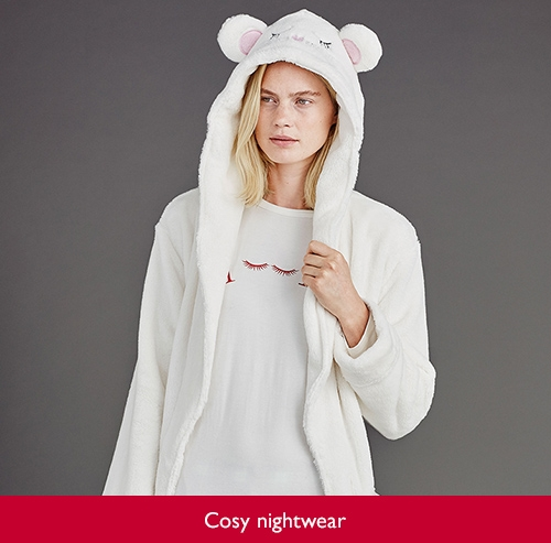Cosy nightwear