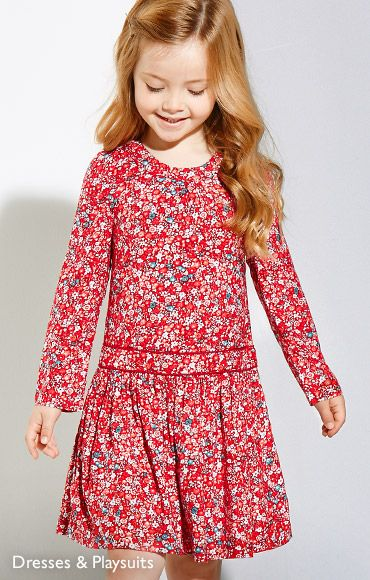 Girls' Dresses & Playsuits
