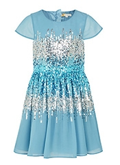 John Lewis Heirloom Collection Girls' Sequin Waist Dress