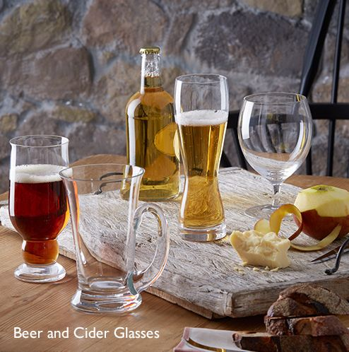 Beer and Cider Glasses