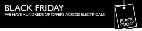 Black Friday - We have hundreds of offers across electricals