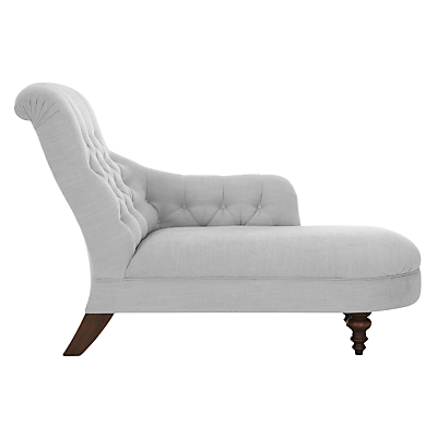 Chaise longue fabric loveseats with left or right hand arm for Chaise longue uk john lewis