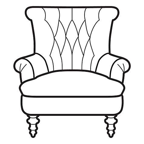 Buy John Lewis Hepburn Armchair, Senna French Grey Online at johnlewis.com