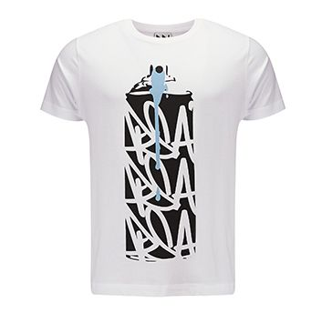 Can Graphic Print T-Shirt