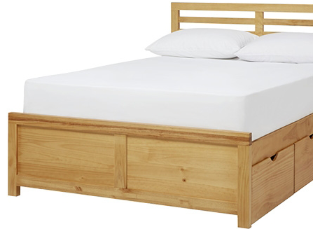 John Lewis Nevada double storage bed