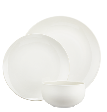 JohnLewis Puritan dinnerware, white