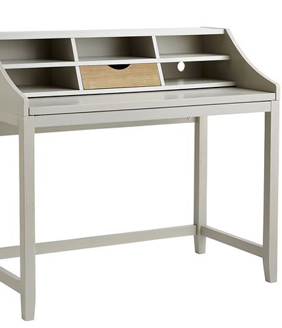 John Lewis Loft desk, grey