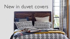 New in duvet covers