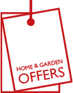 Up to 50% off home & garden