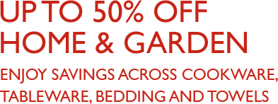 Shop home & garden offers