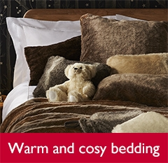Warm and cosy bedding