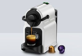 New Krups Nespresso Inissia coffee machines