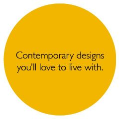 Contempory designs your%27ll love to live with