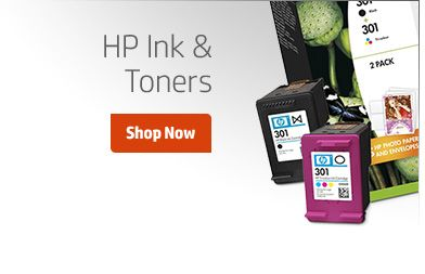 HP Ink & Toners
