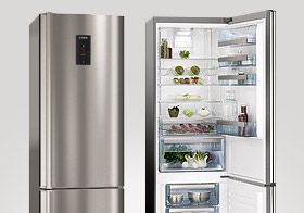 Claim up to £100 on your shopping when you buy selected AEG refrigeration