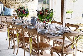 Elegant furniture to make every meal an occasion