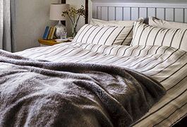 Duvets, rugs and throws to keep your home warm